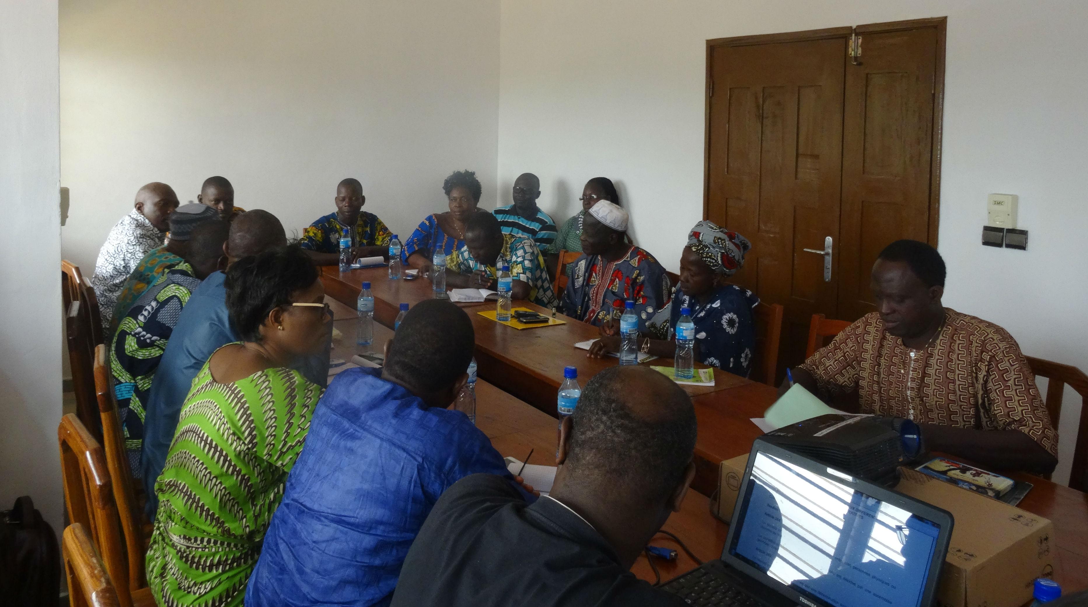Assemblée Générale Ordinaire (AGO) de la coopérative de distribution d'intrants et de commercialisation des produits agricoles (Coop DICPA).